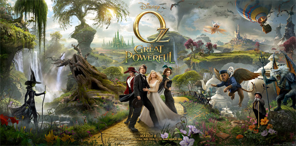Oz: The Great and Powerful - Full Triptych Poster