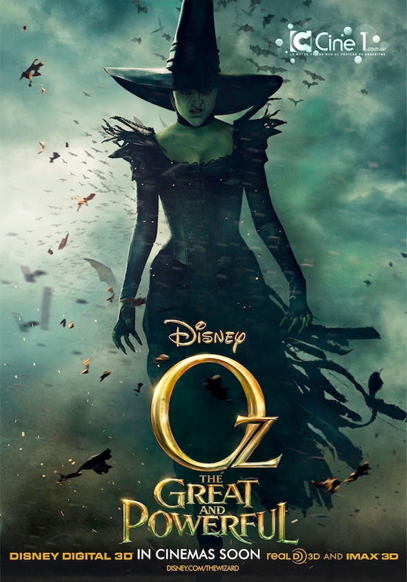Oz: The Great and Powerful - Japanese Poster