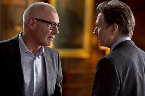 Paranoia - First Look - Harrison Ford and Gary Oldman