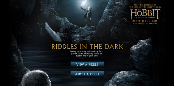Riddles in the Dark