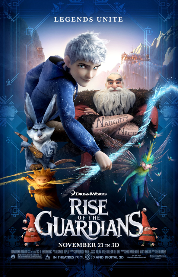 Rise of the Guardians - Final Poster