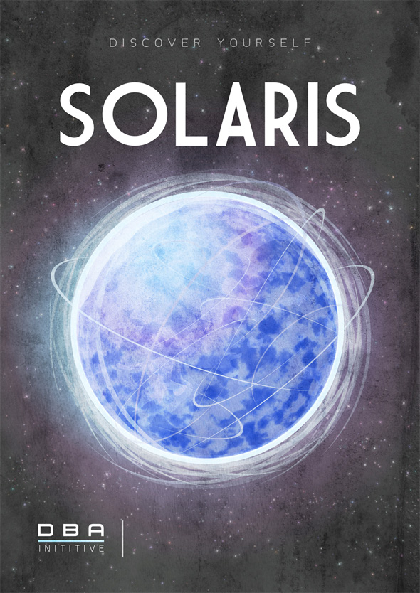 Sci-Fi Travel Posters - Solaris