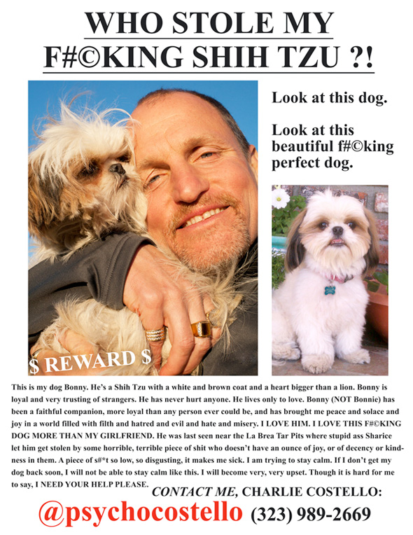 Seven Psychopaths - Lost Dog Ad