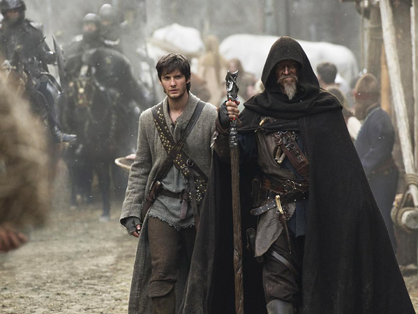 Seventh Son - First Look - Ben Barnes and Jeff Bridges