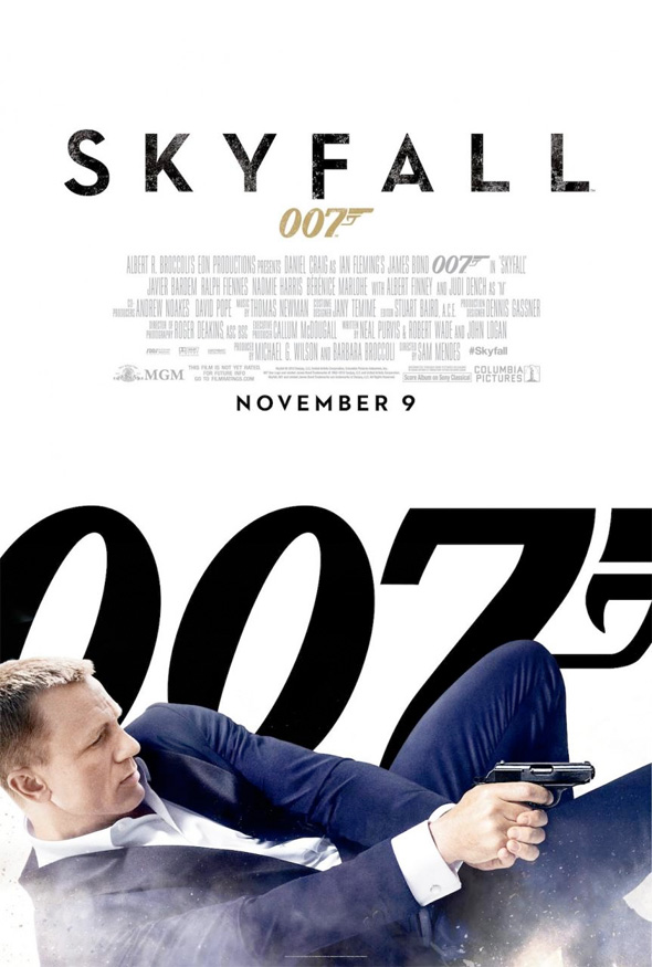 New US Poster for 'Skyfall' Along with Two New UK Character Banners ...