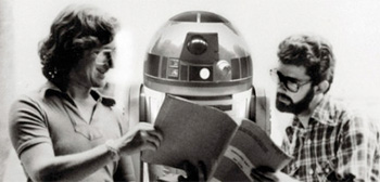 Steven Spielberg and George Lucas