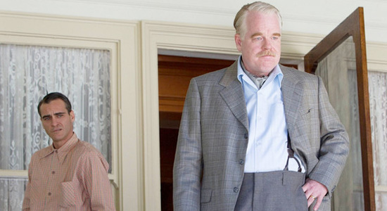 The Master - Philip Seymour Hoffman and Joaquin Phoenix