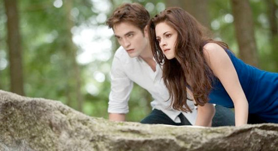 Twilight: Breaking Dawn - Part 2 - Robert Pattinson and Kristen Stewart