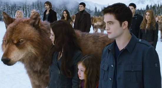 Twilight: Breaking Dawn - Part 2 - Final Fight Face-Off width=