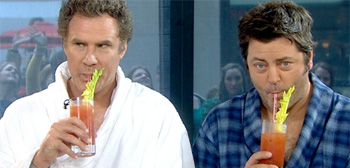Will Ferrell and Nick Offerman
