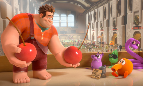 Wreck-It Ralph - Ralph and Q*Bert