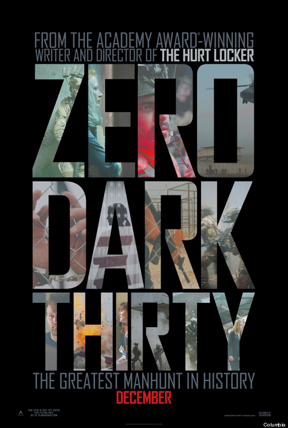Zero Dark Thirty - Final Poster