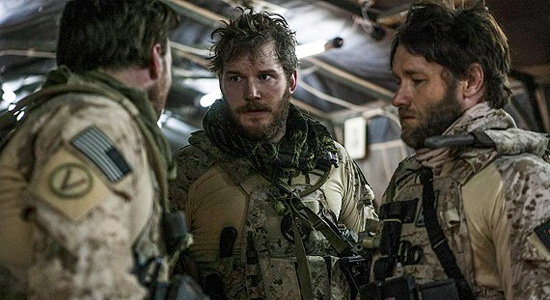 Zero Dark Thirty - Chris Pratt and Joel Edgerton
