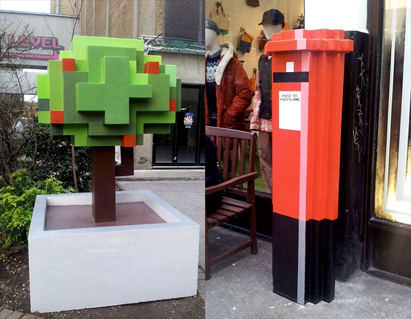 8-Bit Road Wreck-It Ralph London