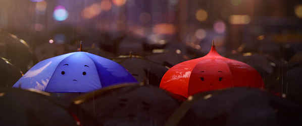 Pixar's The Blue Umbrella
