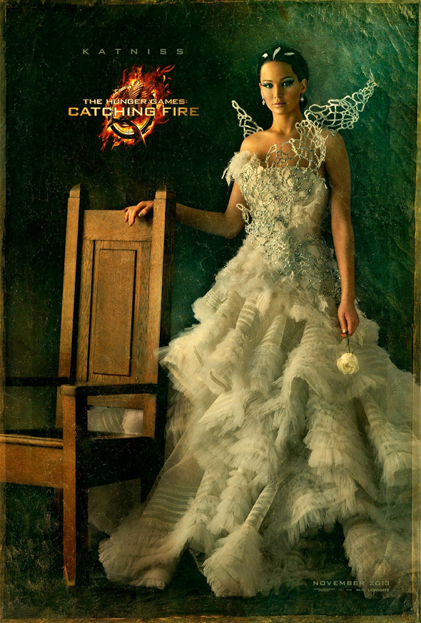 The Hunger Games: Catching Fire - Katniss Portrait Poster