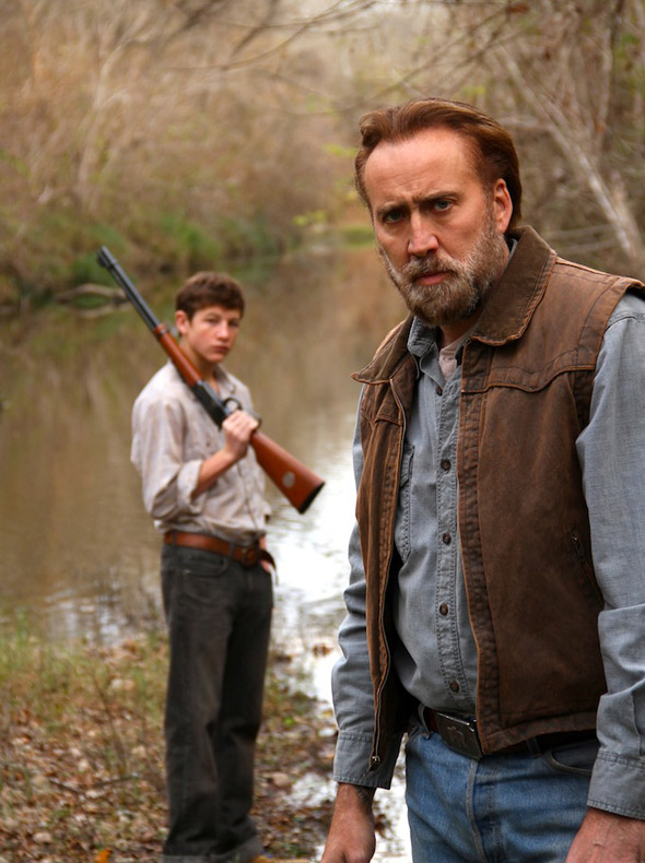 Nic Cage & Tye Sheridan in Joe