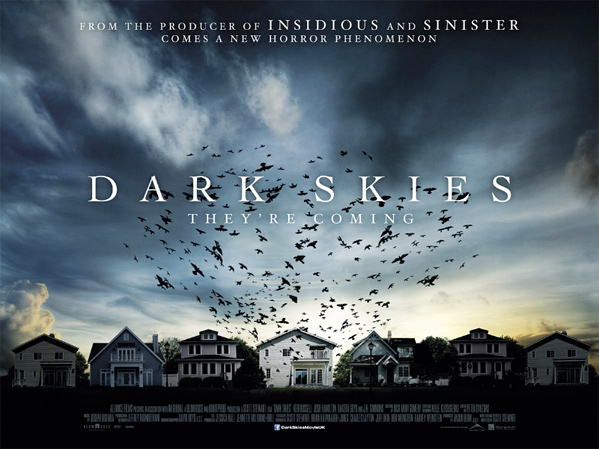 Dark Skies UK Quad Poster