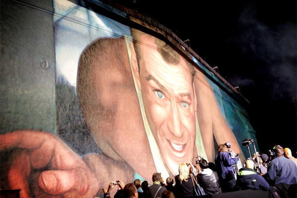 Die Hard Mural