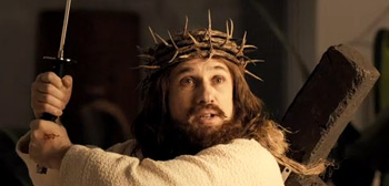 Christoph Waltz in Djesus Uncrossed