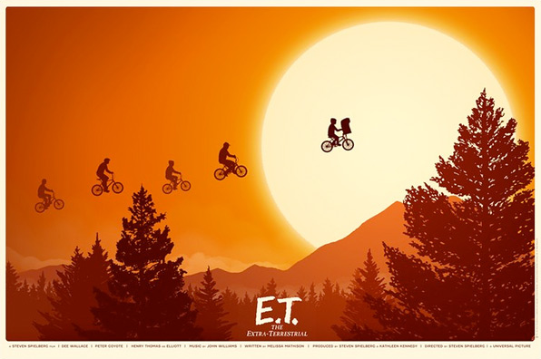 Mike Mitchell's E.T. Mondo Poster