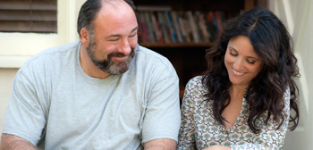James Gandolfini & Julia Louis-Dreyfus in Enough Said