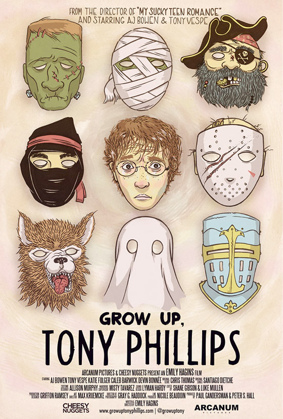 Grow Up, Tony Philips Poster