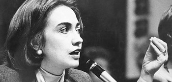 Hillary 'Rodham' Clinton