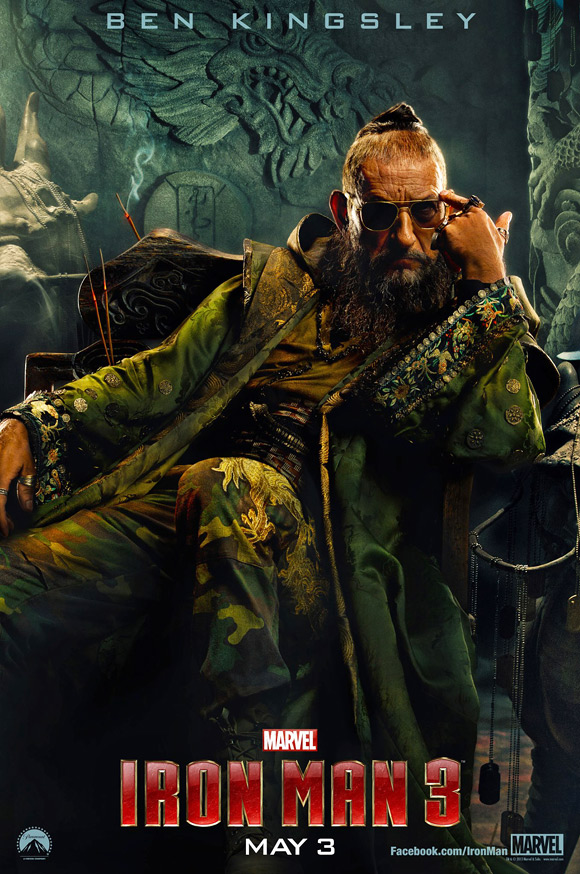 The Mandarin - Iron Man 3 Poster