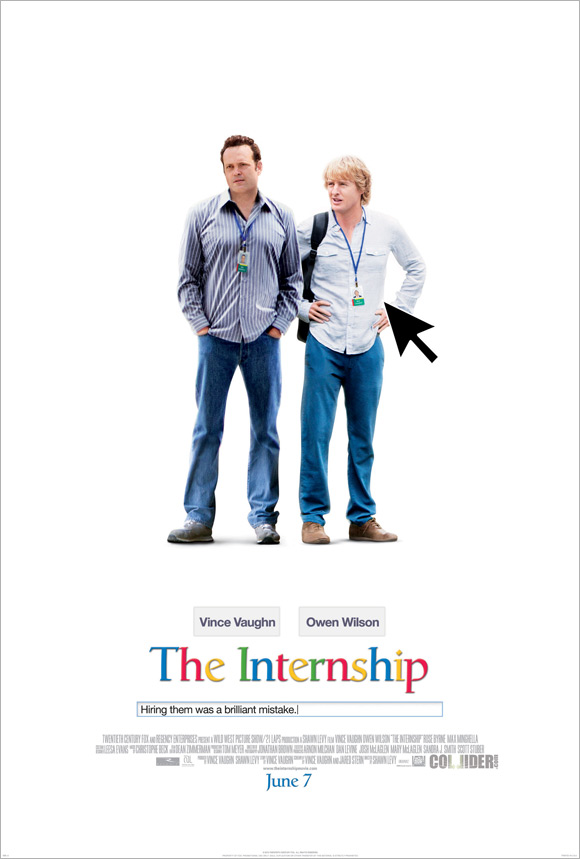 The Internship Poster