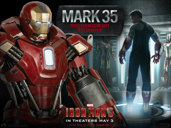 Iron Man's Red Snapper Armor