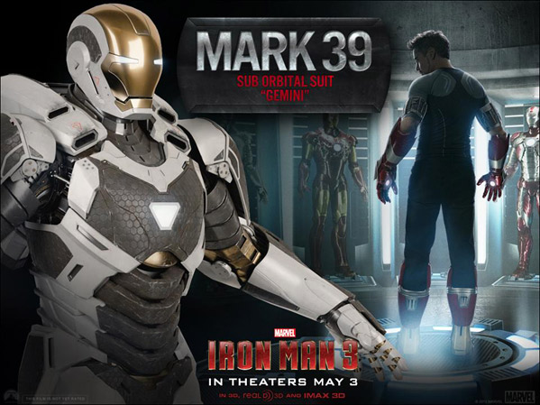 Iron Man's Gemini Mark XXXIX Armor