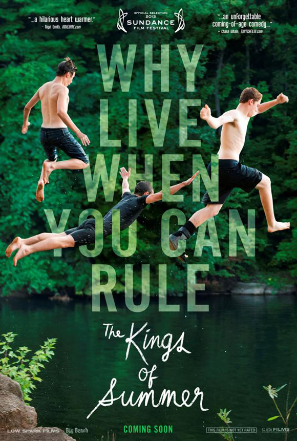 The Kings of Summer Teaser Poster