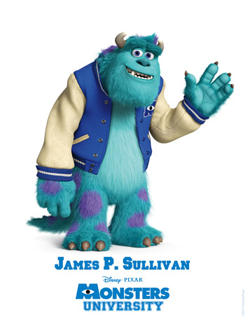 Monsters University - James. P Sullivan