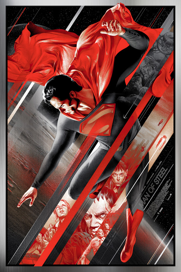 Man of Steel Print - Martin Ansin
