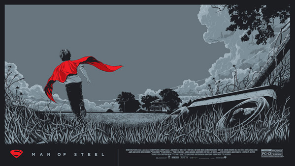 Man of Steel Print - Ken Taylor