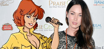 April O'Neil / Megan Fox