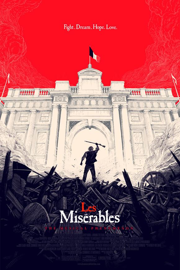 Les Miserables Mondo - Olly Moss