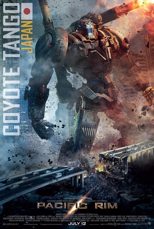 Coyote Tango Pacific Rim Poster