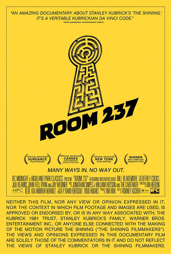 Room 237 Poster The Shining