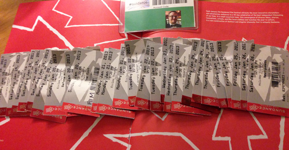 Sundance 2013 Tickets