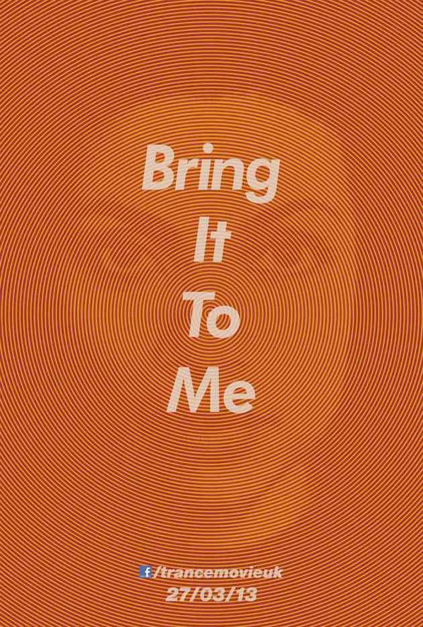 Danny Boyle's Trance Poster - Rosario Dawson