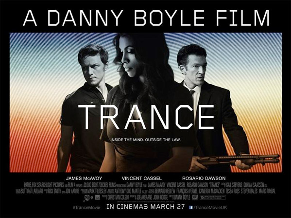 Danny Boyle's Trance Poster