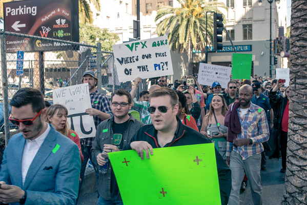 VFX Oscars Protest