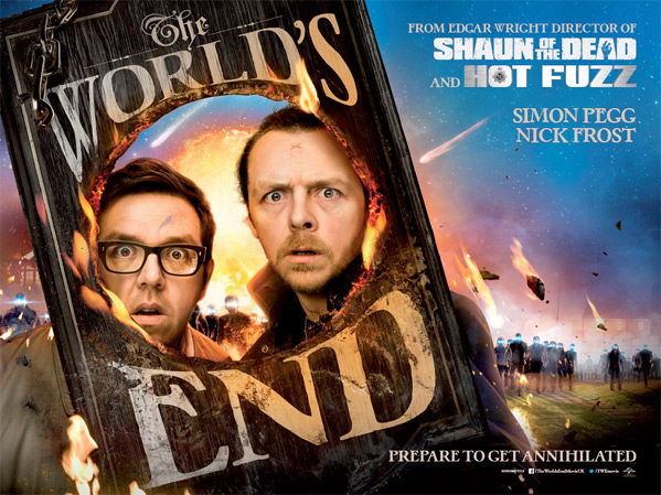 Edgar Wright's The World's End UK Poster