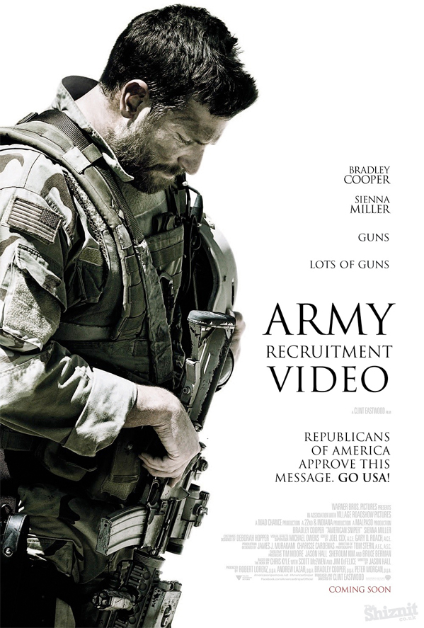 2015 Oscar Nominees - Honest Posters