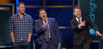 Jonah Hill & Channing Tatum on @Midnight