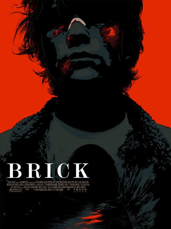 Brick - Mondo Poster