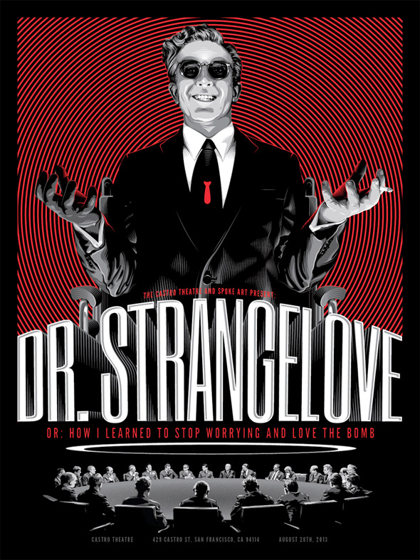 Dr. Strangelove Spoke Art Poster