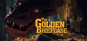 The Golden Briefcase - Smaug the Dragon